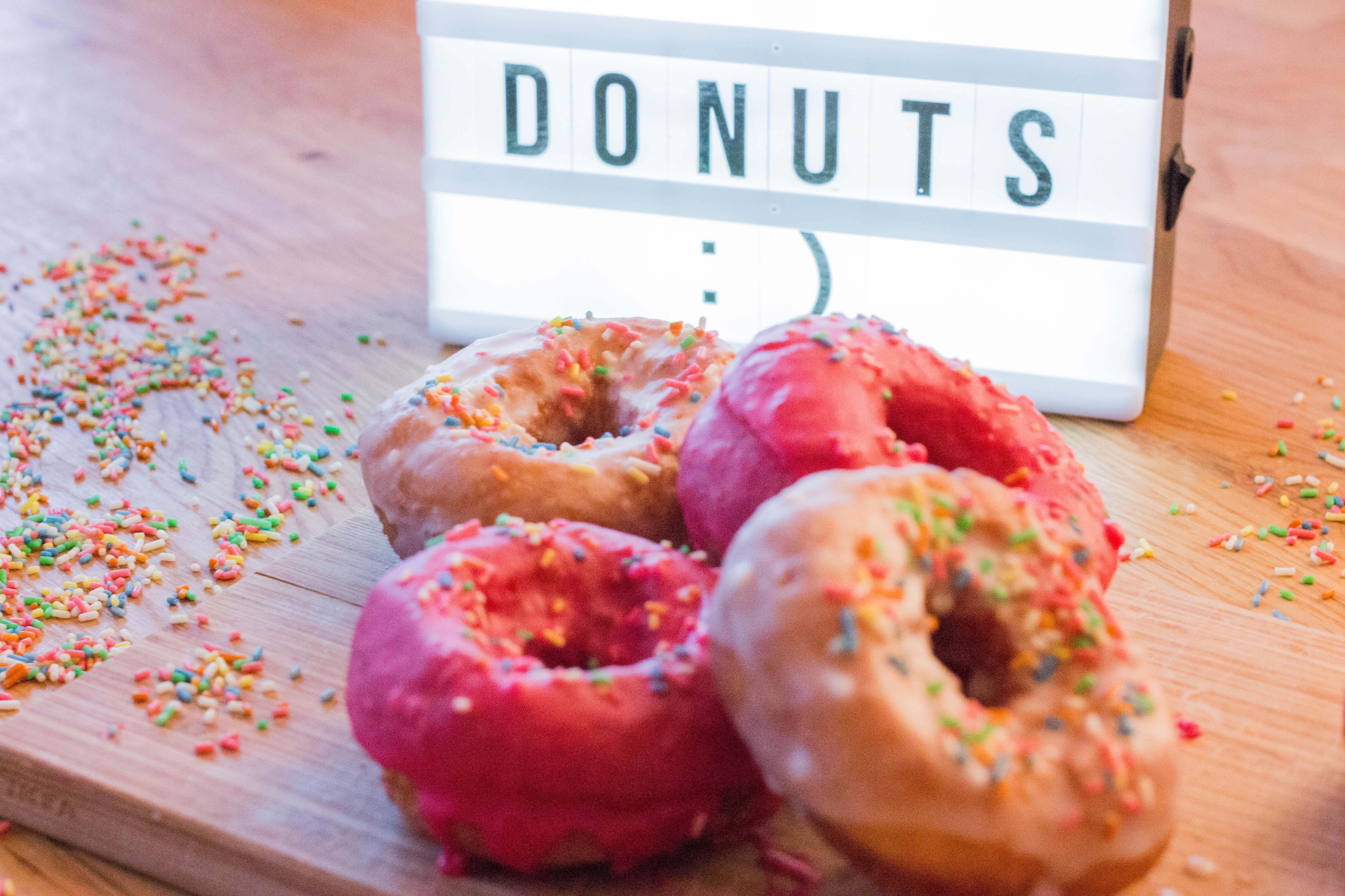 Fertige Donuts