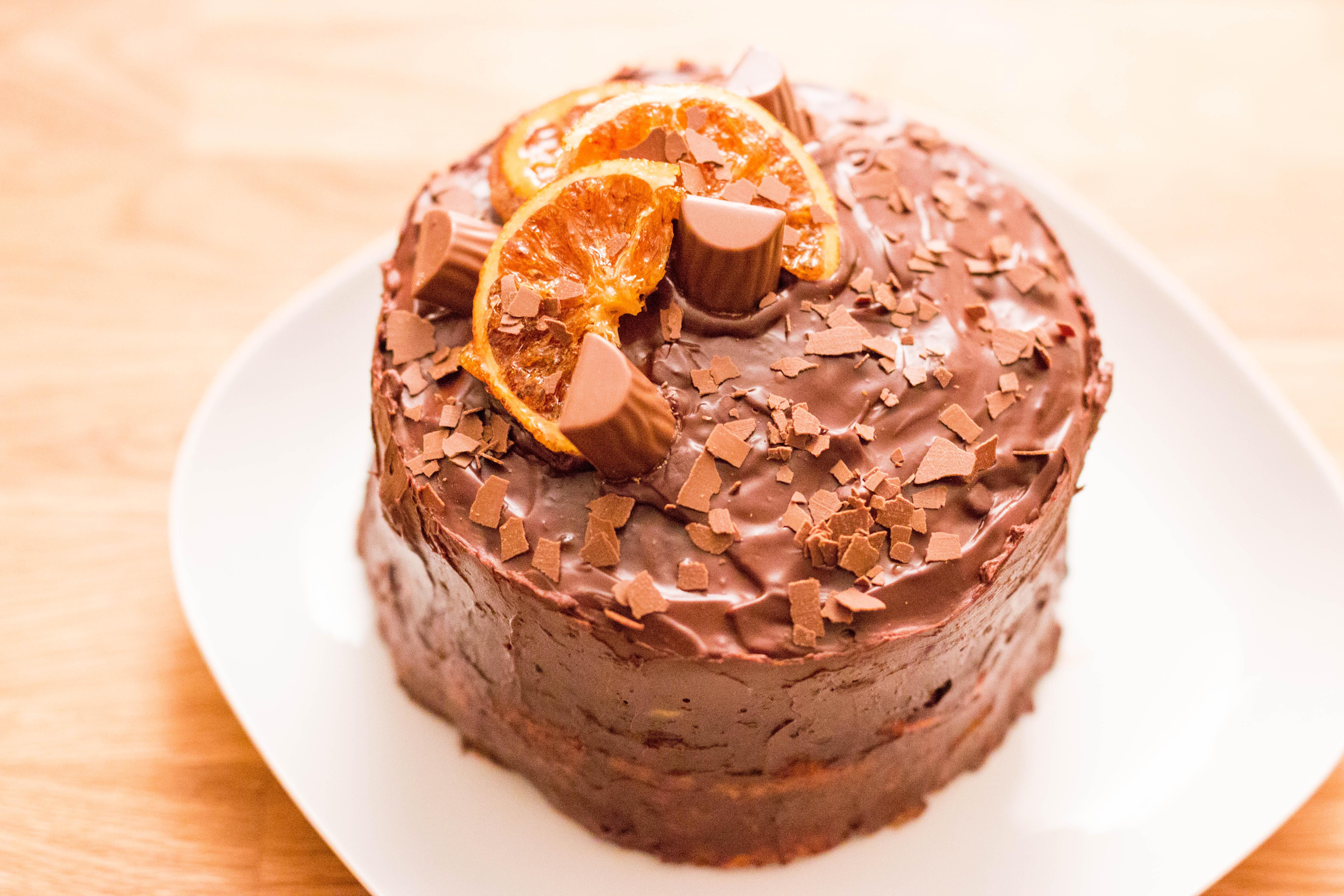 Orangen-Gewürz-Kuchen