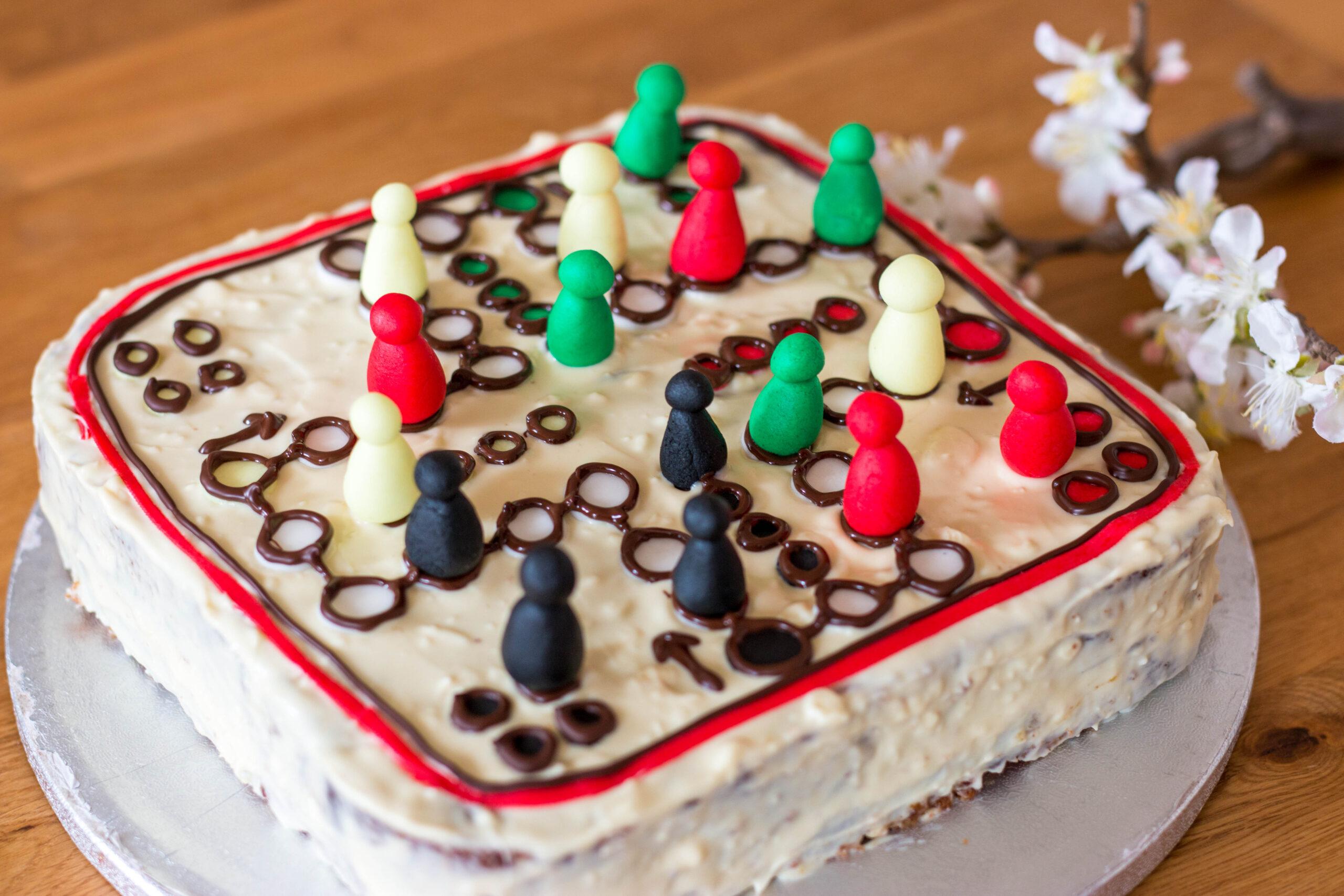 Mensch-ärgere-dich-nicht-Torte